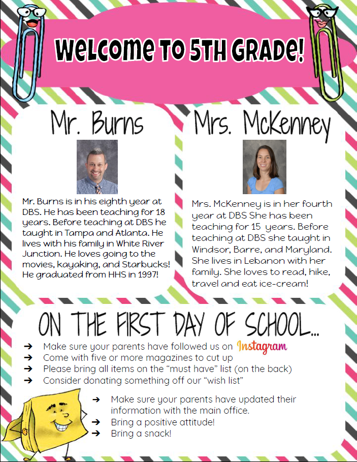Welcome to 5th Grade 2019-20_Page_1